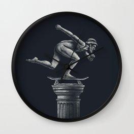 The Skater Wall Clock