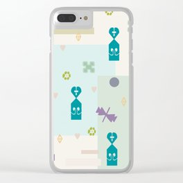 Something Different Clear iPhone Case
