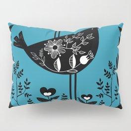 Danish Birds Bring Good Luck And A Good Life Pillow Sham