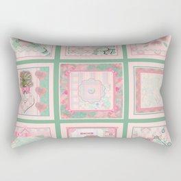 Buttons and Bows Quilt Rectangular Pillow