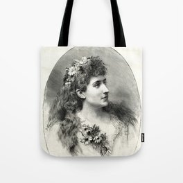 French Magazine Cover April 5, 1890 Tote Bag