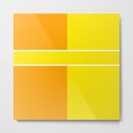 Team Colors 6...yellow,orange Metal Print