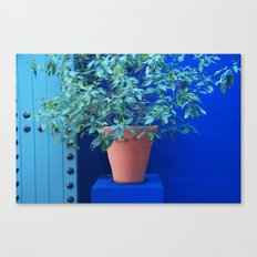 Blue Wall Marrakesh Canvas Print
