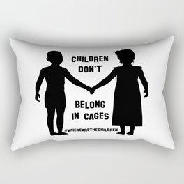 Where Are The Children? Rectangular Pillow