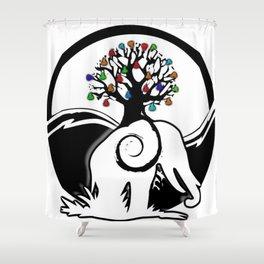 EarthsGrowth Shower Curtain