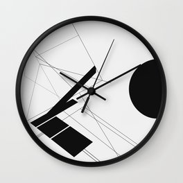 RIM BROKE Wall Clock