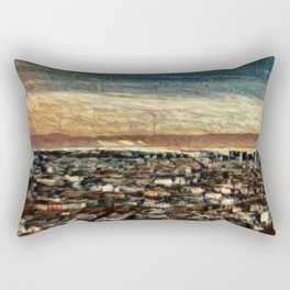 Napoli Skyline Rectangular Pillow