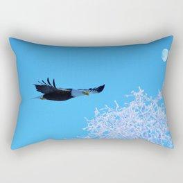 Frosty Flight Rectangular Pillow