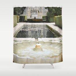 Two Moorish Fountains Shower Curtain