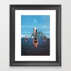 The Worshippers - Thom Easton Collaboration Framed Art Print
