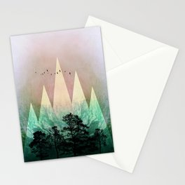 TREES under MAGIC MOUNTAINS IV Stationery Cards