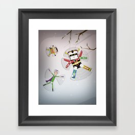 The Nick Yorkers in December Framed Art Print