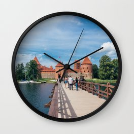 Trakai Island Castle Wall Clock