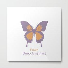 Ulysses Butterfly 9 Metal Print