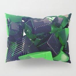 The Riddler Maze of Carbon Quaders Pillow Sham