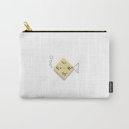 Fish Scrabble Carry-All Pouch
