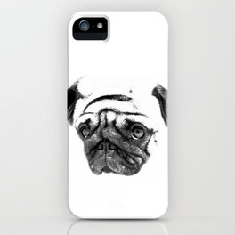 Pug Nina iPhone Case