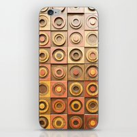 reassurance iPhone & iPod Skins featuring wood work by Magdalena Hristova