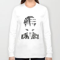 soul eater Long Sleeve T-shirts featuring death the kid soul eater by Rebecca McGoran
