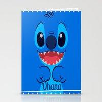 ohana Stationery Cards featuring Ohana. by S J A E