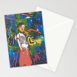 Left-Eye The Lyrical Goddess Stationery Cards