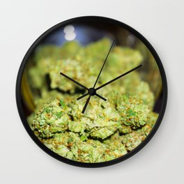 Green goodness Wall Clock