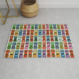 Colorful retro collection Rug