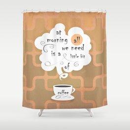 Cofee Shower Curtain