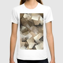 Cubism Abstract 185 T-shirt