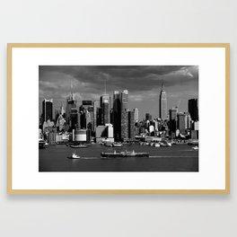 New York City Skyline 2009 Framed Art Print