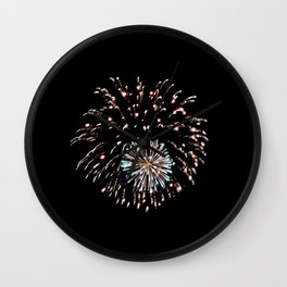 Fireworks 16 Wall Clock