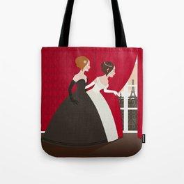 Prinzess Neugier Tote Bag