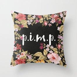 Pimp Throw Pillow