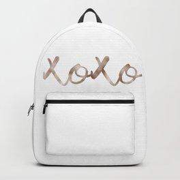 Rose gold XOXO Backpack