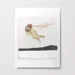 Stone Spirit / Flying Metal Print