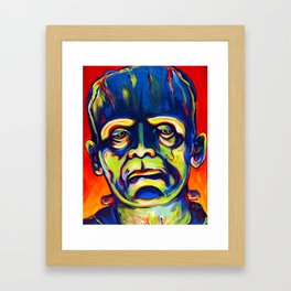 Call Me Frank Framed Art Print