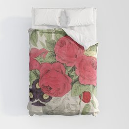 The Boquet by N Currier Comforters