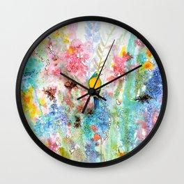 coeur chaud Wall Clock