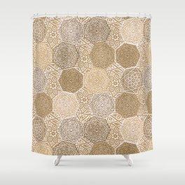 Sandalwood Souk Shower Curtain