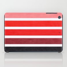 Colorful Red Geometric Pattern iPad Case