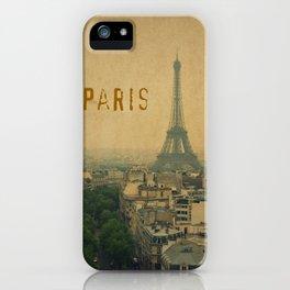Paris, je t'aime... iPhone Case