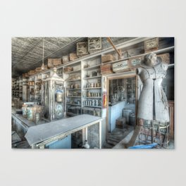 The General Store, Bodie Ghost Town Canvas Print