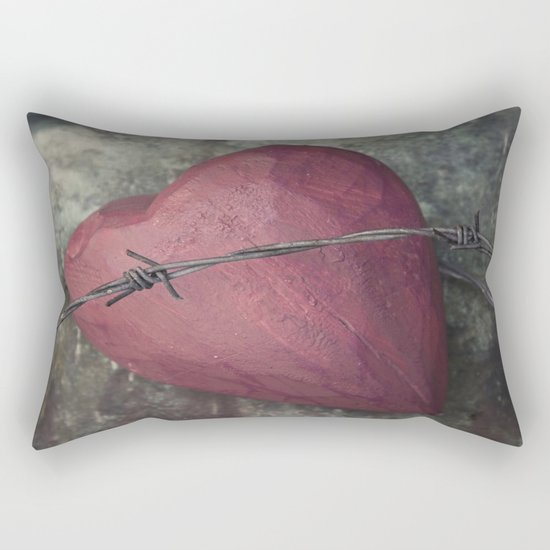 Trapped Heart III Rectangular Pillow
