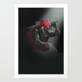 The King of Evil Art Print
