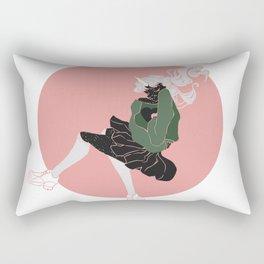 Spacing Out Rectangular Pillow