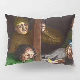 """""""Can You Show Me"""" Portrait Painting by Jeanpaul Ferro Pillow Sham"""