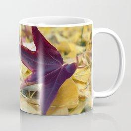 Autumn Sweetgum Leaves Coffee Mug