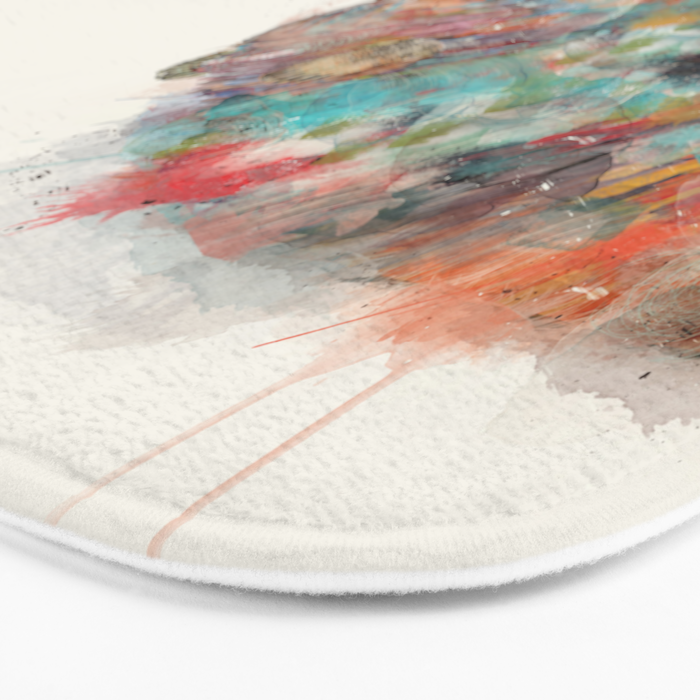 into the wild (the grizzly bear Bath Mat