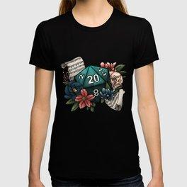 Bard Class D20 - Tabletop Gaming Dice T-shirt