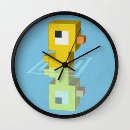Devious Duckie Wall Clock